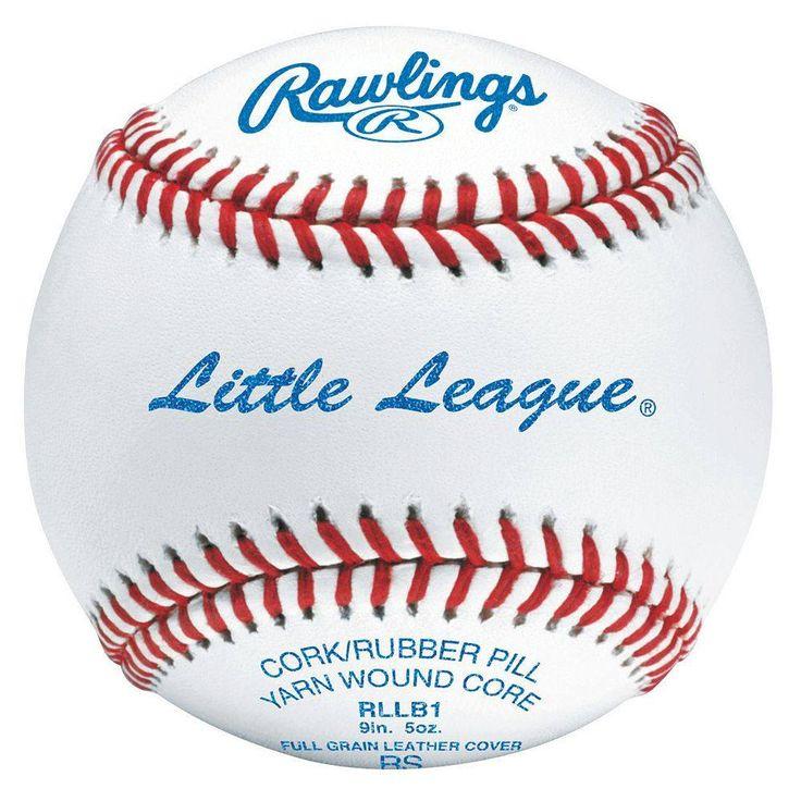 Rawlings RLLB-1 Raised Seam Little League Baseball