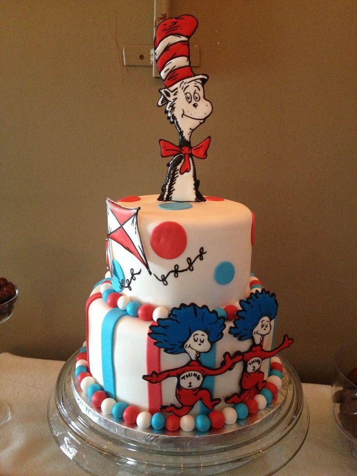 Cat In The Hat Birthday Cake Ideas