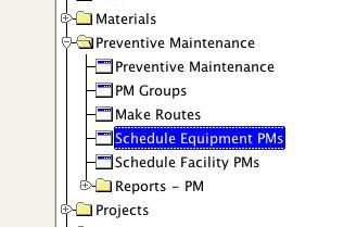 building preventive maintenance schedule