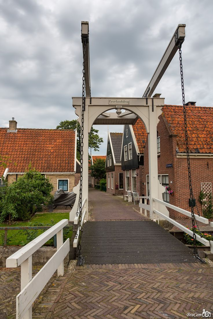 UNESCO heritage village De Rijp, situated in the province of 'Noord-Holland'. #greetingsfromnl