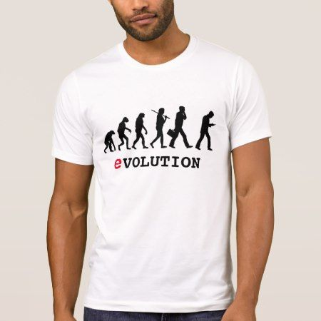 Funny Evolution Smartphone Addict T-Shirt - click to get yours right now!