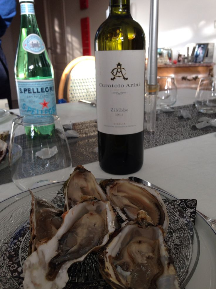 Zibibbo & oysters: best Christmas treat