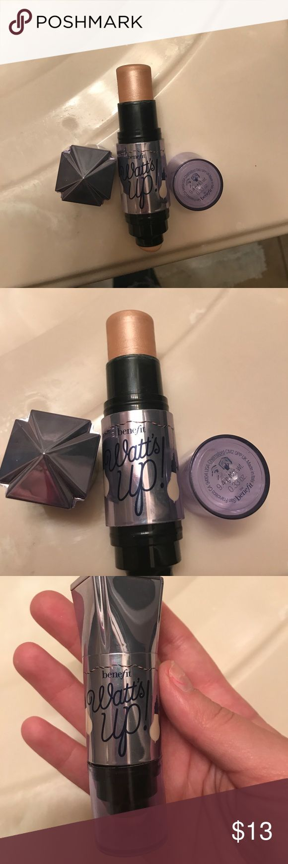 Benefit Watts Up Highlighter Great for highlighting. Only used a few times! Lots of product left! Makeup Luminizer