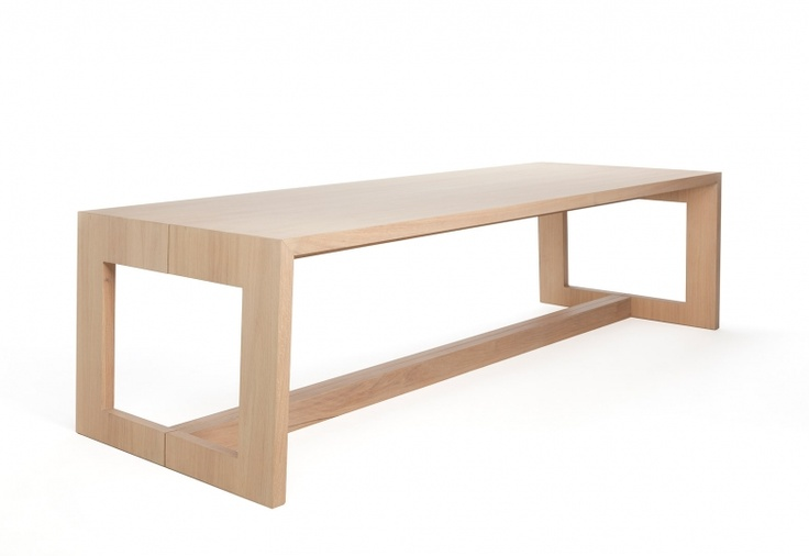 Maas eettafel design door Marjolein Kap | Odesi: dutch design online