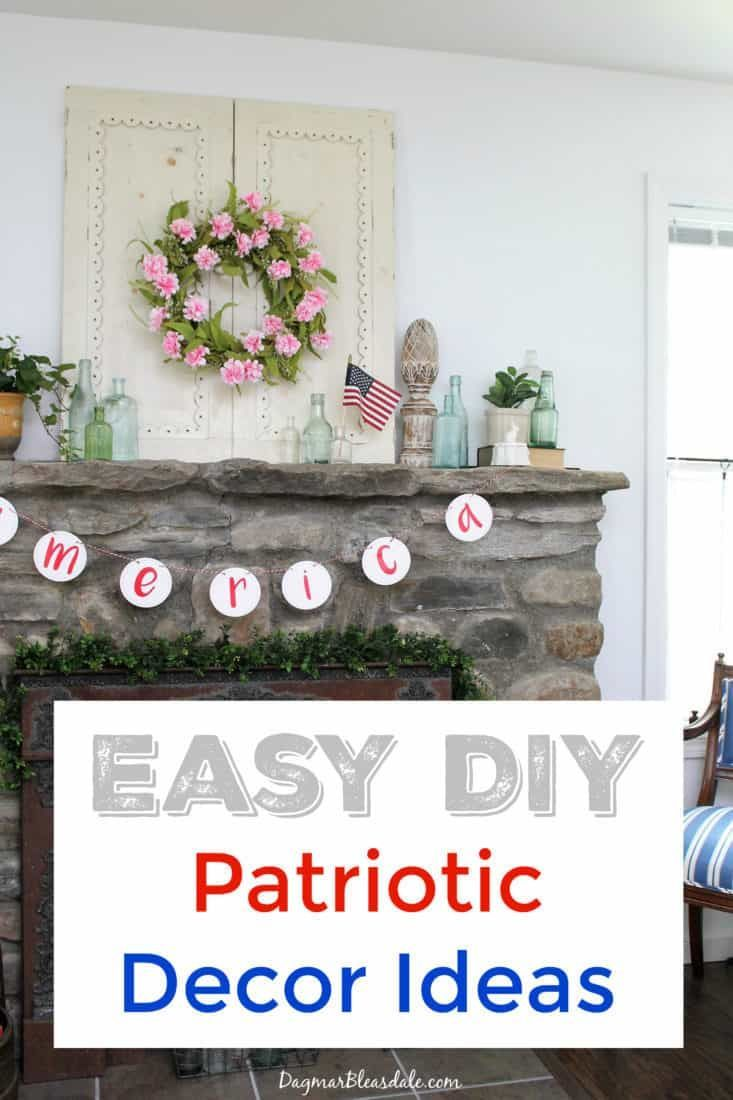 4th Of July Decorations Diy Flag Ideas And More Home Decor Diy