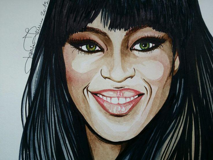 Naomi watercolor