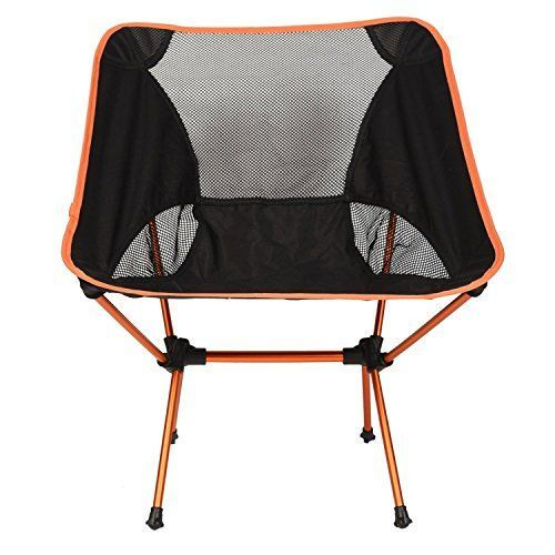 LazyDaze Hammocks Portable Ultralight Camping Chair Outdoor Folding Chairs Orange  -- Learn more by visiting the image link.