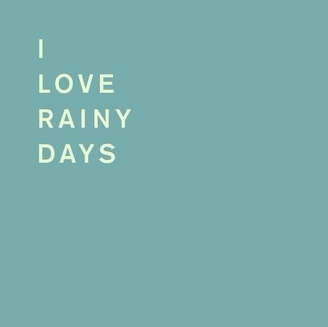 Quotes About Rainy Days: 28 Best Images About Love Rainy Days On Pinterest