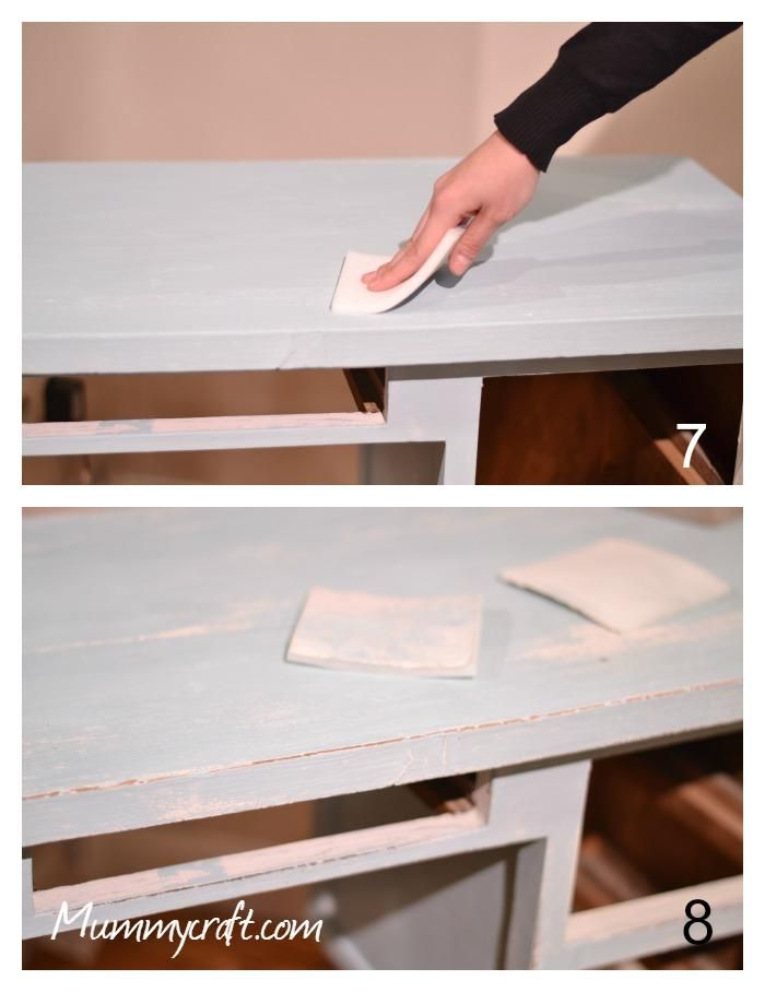 Lijar la pintura chalk