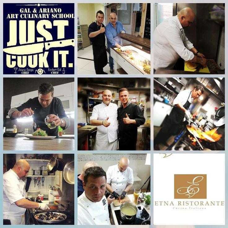 https://www.facebook.com/norbert.gal.chef/                                       Norbert Gal /masterchef/ & Ariano Sergio /séf-tulajdonosunk/ hamarosan főző iskolát indít. Azoknak a nyitott, főzni kedvelő nőknek, férfiaknak, anyukáknak, apukáknak ajánljuk, akik meg szeretnének ismerkedni az olasz kulináris titkokkal és hogyan ültessék át mindennapi főzőtudásukat gluténra érzékeny szeretteik részére is. Figyeljék oldalunkat! Hamarosan minden részletet elárulunk.
