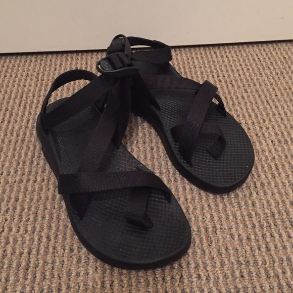Chacos Sandals!!! Black Chaco sandals! Never been worn. Size 6 but I normally wear 6.5 to 7. Make an offer Chacos Shoes Sandals