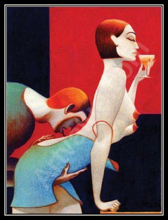 Erotic art - A csókok háborúja