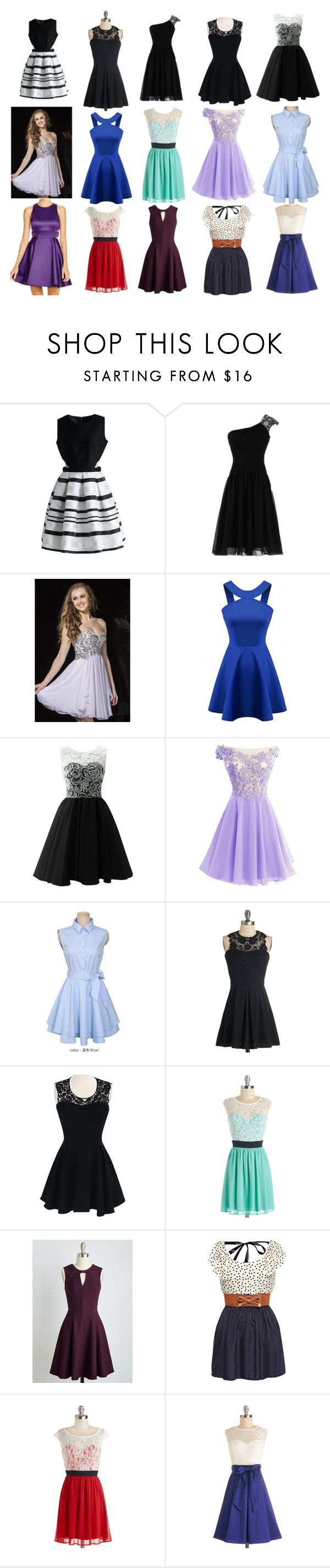 """""""Dresses"""" by amyhnsn ❤ liked on Polyvore featuring Chicwish and Jolly Club"""