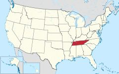 Tennessee in United States.svg