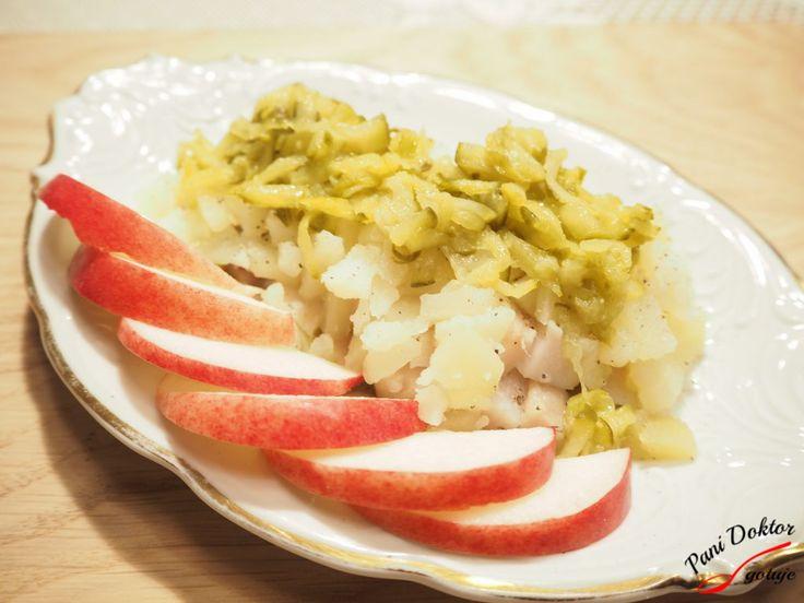 Śledź w parze z ogórkiem i ziemniakiem – Pani Doktor gotuje