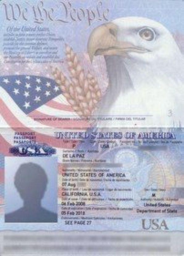 Pin on Passport card