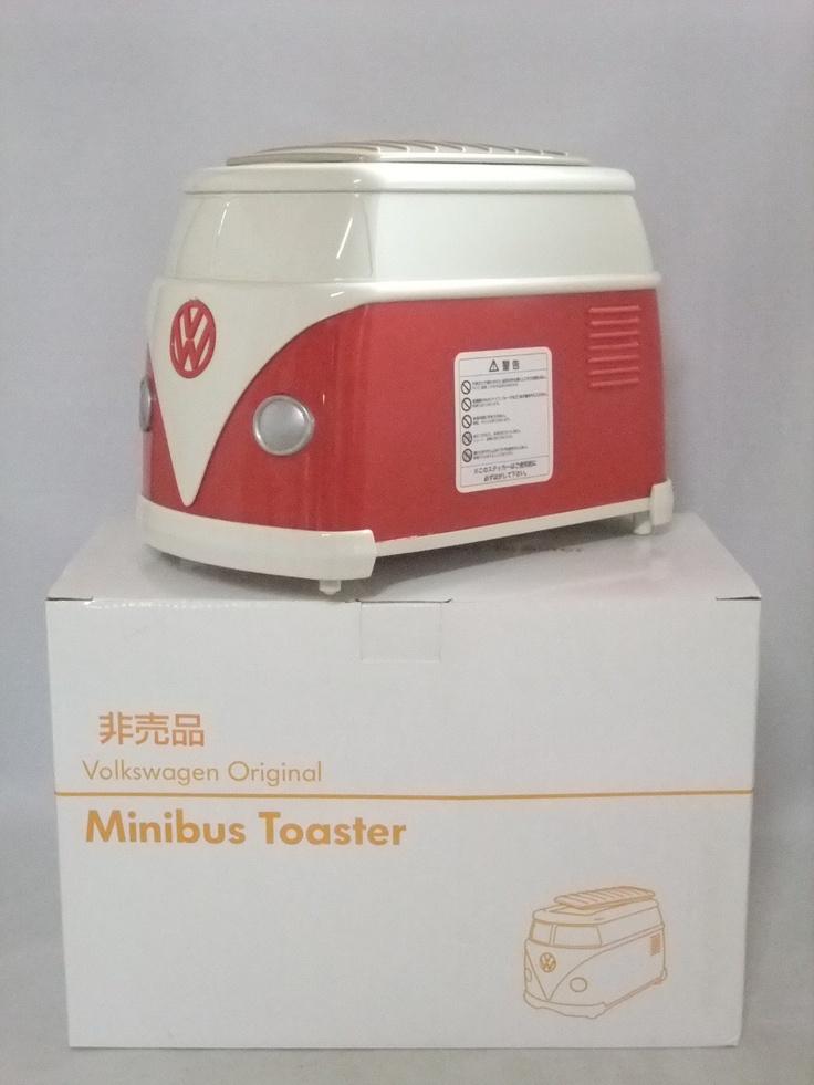 Japan VW Dealer Original Minibus Volkswagen Toaster Red Brand New Not for sale | eBay