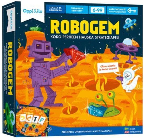Robogem -ohjelmointipeli 6 - 99 v