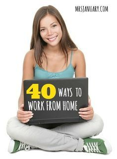 Great and actually realistic ways to make some extra cash from home.