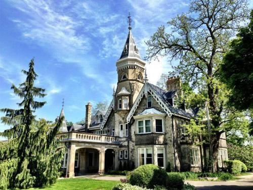 De La Salle Castle, Toronto, Canada.