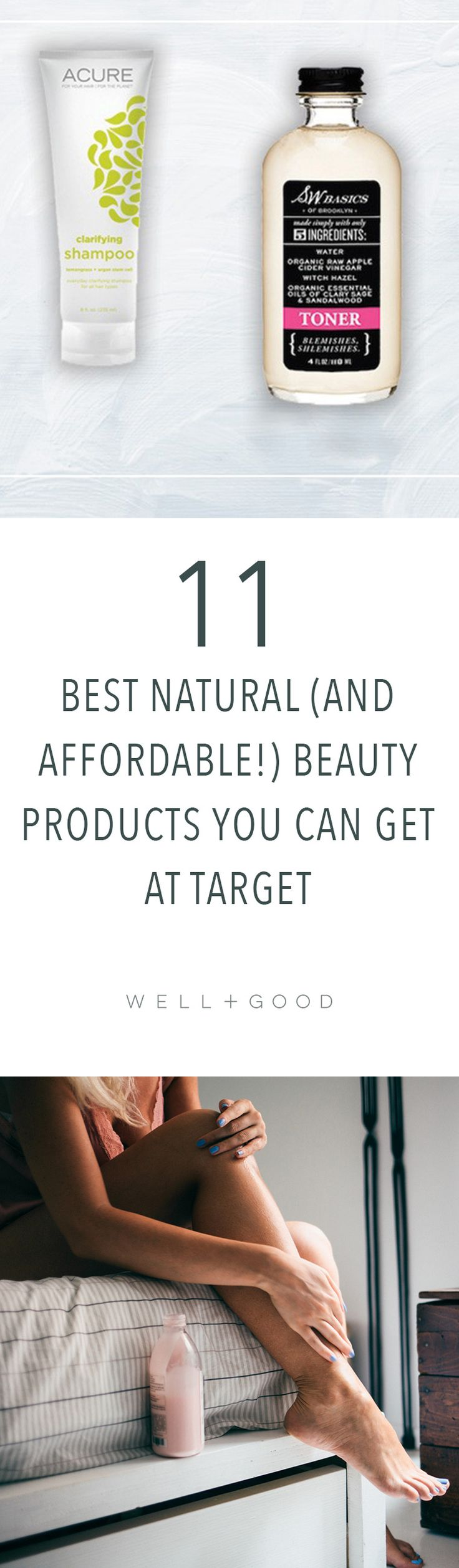 Best natural beauty products to buy at Target