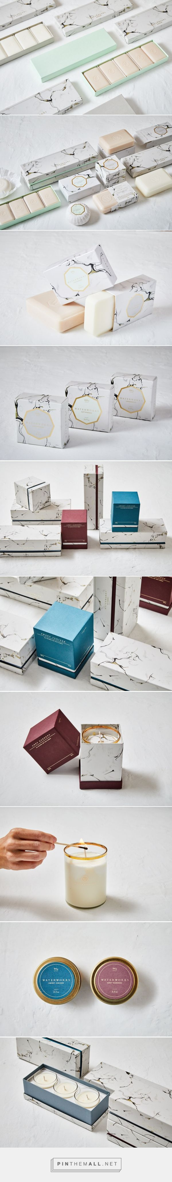 Waterworks Apothecary Bath Packaging by Stitch Design Co. | Fivestar Branding Agency – Design and Branding Agency & Curated Inspiration Gallery: