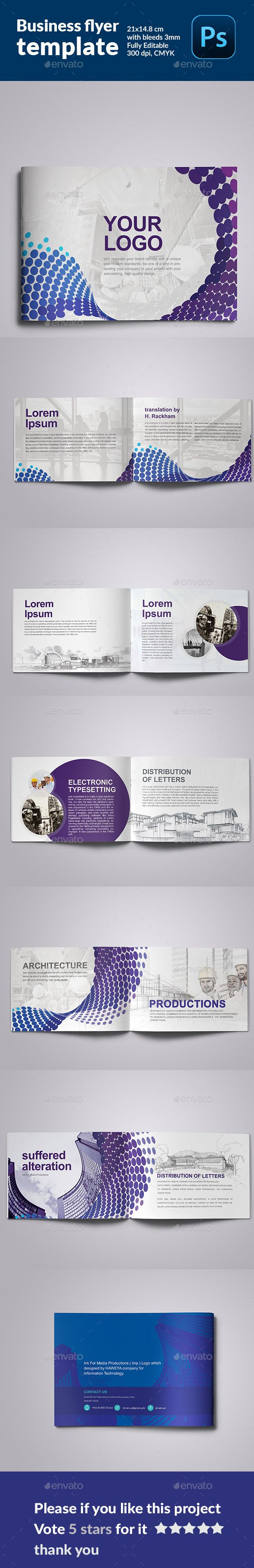 Minimal Modern  Architecture Brochure