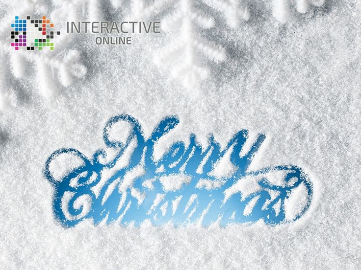 Merry Christmas and Best Wishes from all of us at Interactive Online.