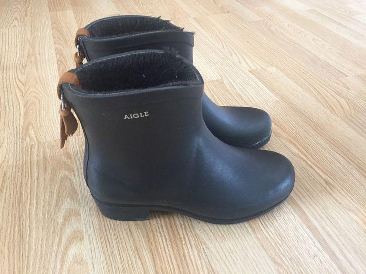 Bottines Aigle Miss Juliette Botillon Aigle ! Taille 39  à seulement 70.00 €. Par ici : http://www.vinted.fr/chaussures-femmes/bottes/33316786-bottines-aigle-miss-juliette-botillon.