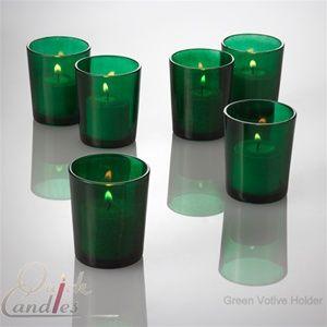 Quick Candle - Eastland Votive Holder - Green Set of 72 for 34.99