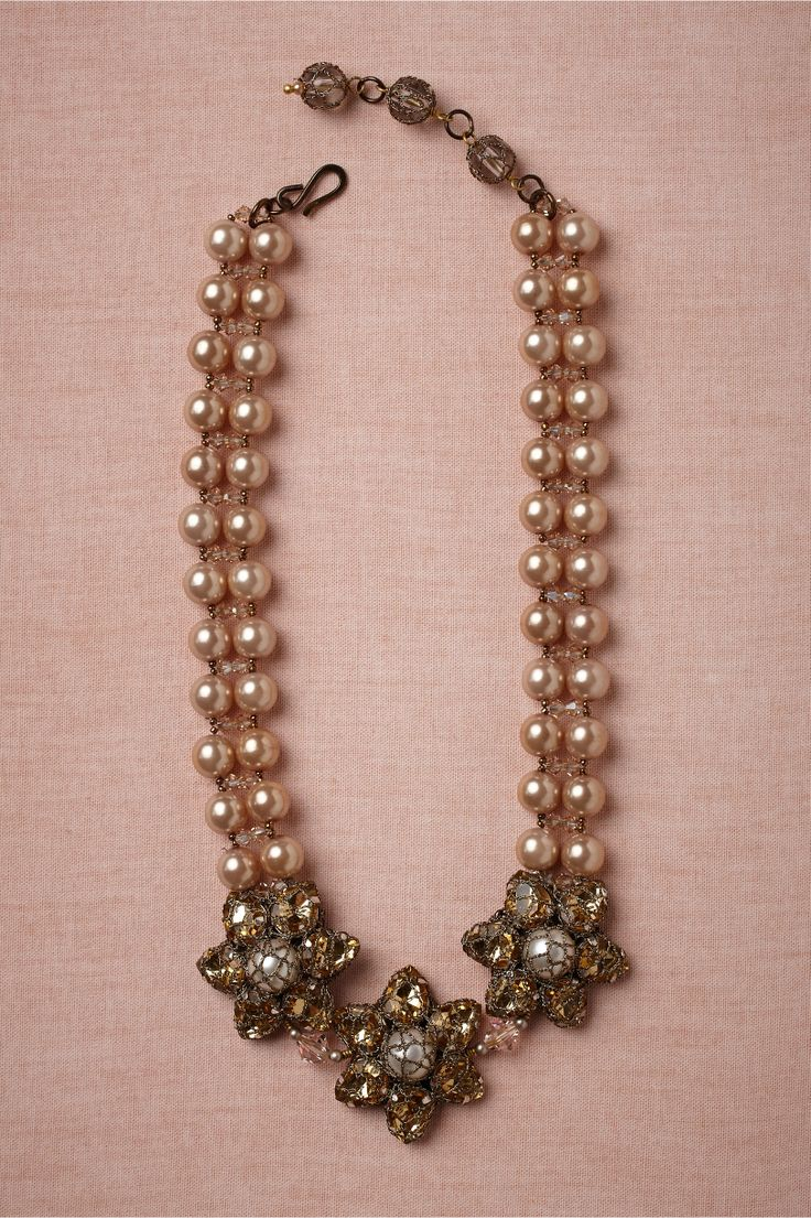 Bonne Bouche Necklace,BHLDN: Bouch Necklaces, Accessories Jewelry, Necklaces Pearls, Bridal Necklaces, Jewelry Inspiration, Inspiration Jewelry, Jewelry Ideas, Bridal Style, Vintage Inspiration