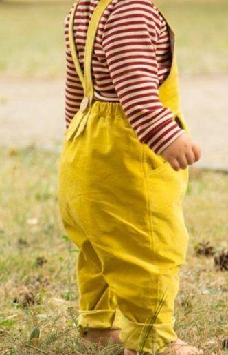 Stoffwindel Latzhose für Babys und Kinder nähen - Schnittmuster und ...