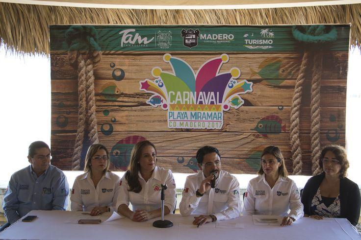 Carnaval Playa Miramar, un espacio para la convivencia familiar en la zona sur de Tamaulipas