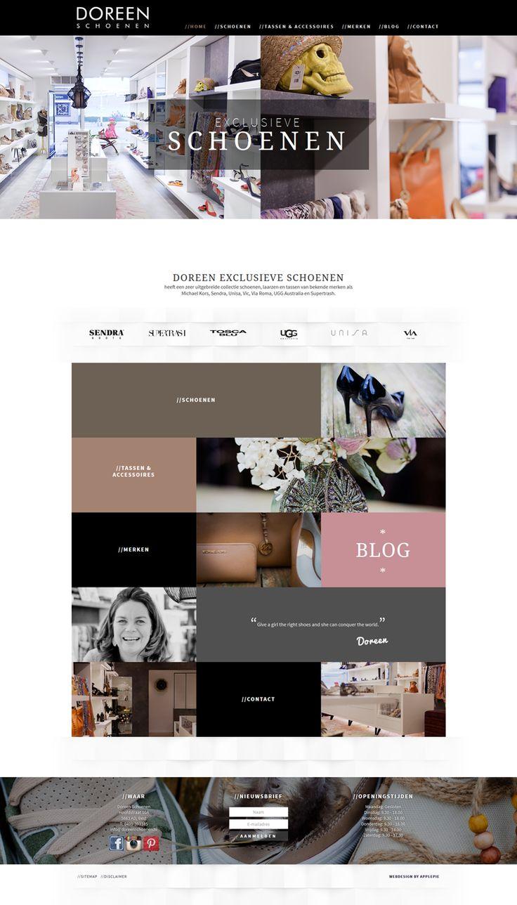 www.doreenschoenen.nl (design en ontwikkeling door Applepie)