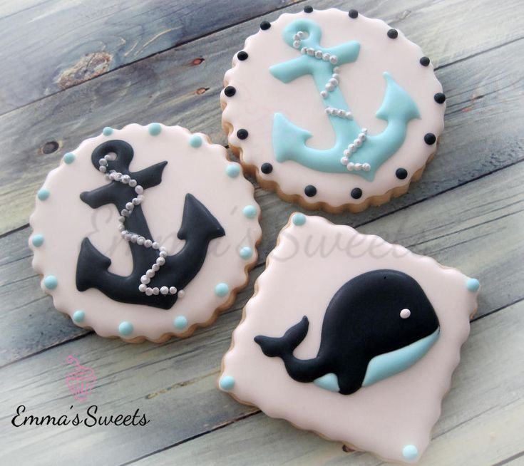 Nautical Cookies by Emma's Sweets | Cookie Connection