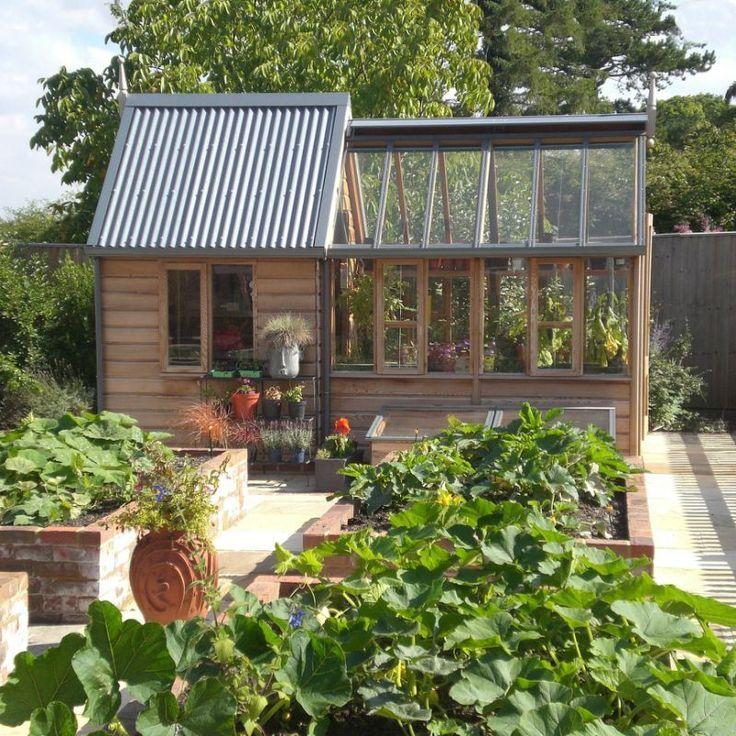 Rosemoore Combi Greenhouse Shed Hobby Greenhouse Kits Combi