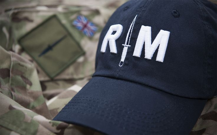 Royal Marines Cap  http://royalmarinesshop.com/royal-marines-black-commando-dagger-baseball-hat.html