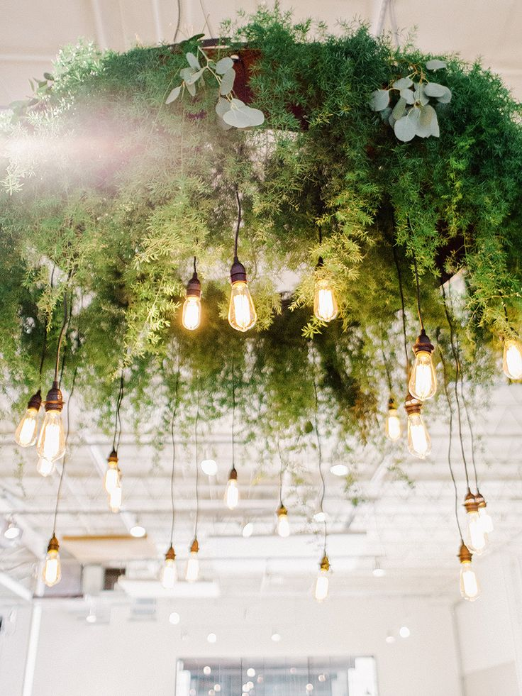 A Modern Wedding Designed With Metallics + Greenery