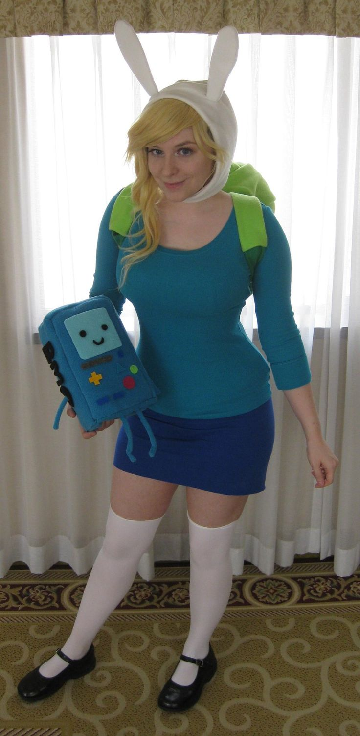 I really want to do this for a cosplay costume! fionna_the_human__by_srsrazzmatazz-d50x8s4