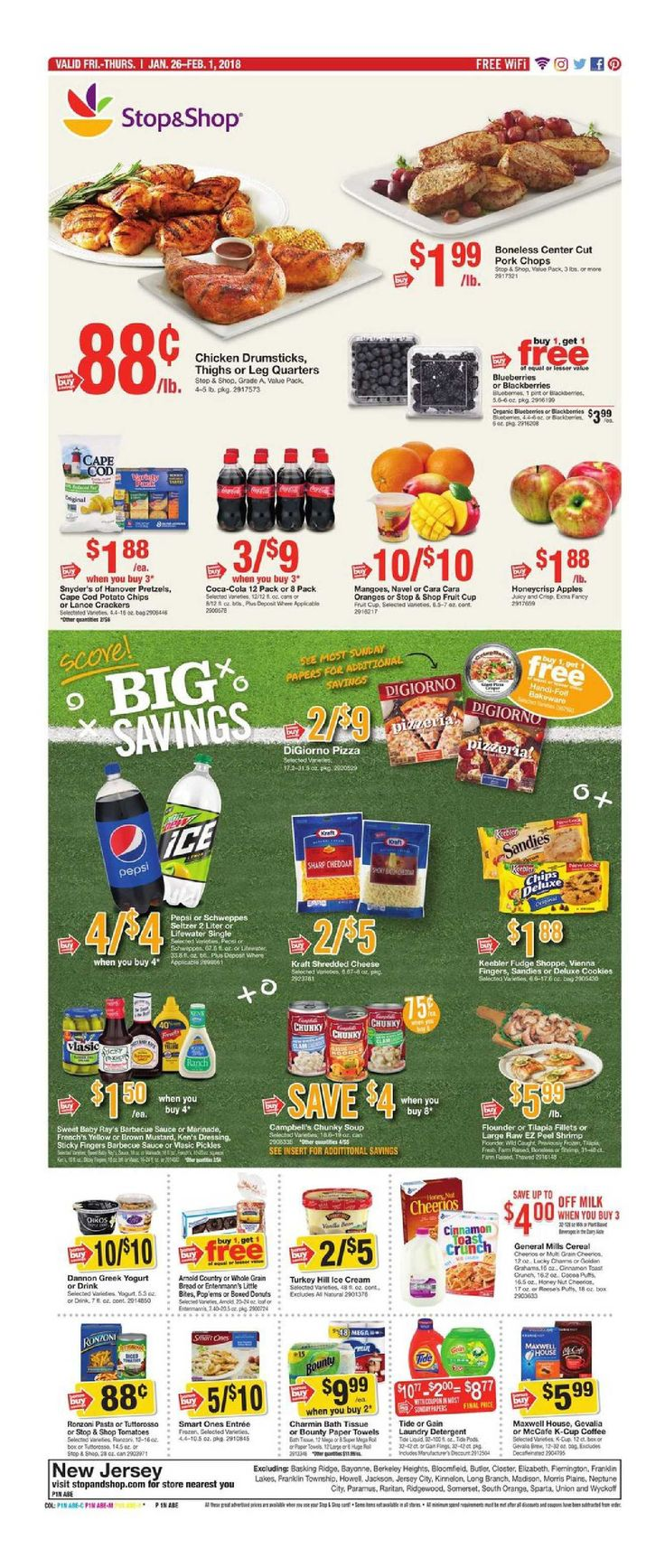 Stop and Shop Circular January 26 - February 1, 2018 - http://www.olcatalog.com/grocery/stop-and-shop-circular.html