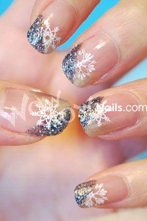 base/top coat  - M20 and M59  - Konad special polish in White  - light gold nail polish (OPI 'Glamour game')  - dark glitter polish (China Glaze 'Some Like It Haute')