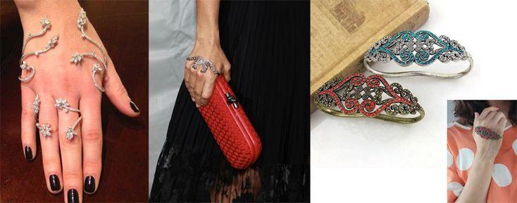 Hand Armbänder: Gaydamak Schwestern setzen einen neuen Trend in der Modeschmuck   Mode