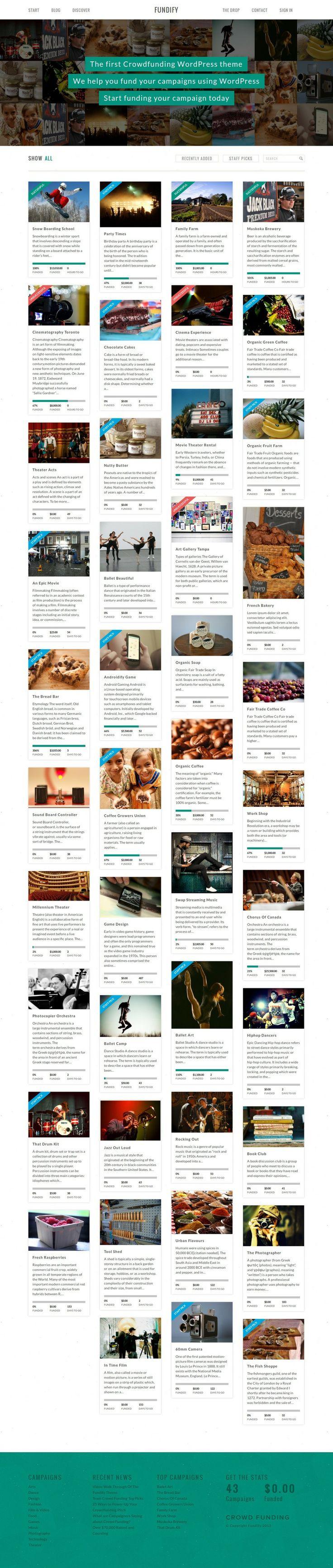 Best Pinterest Style Fancybox Wordpress Themes 2014