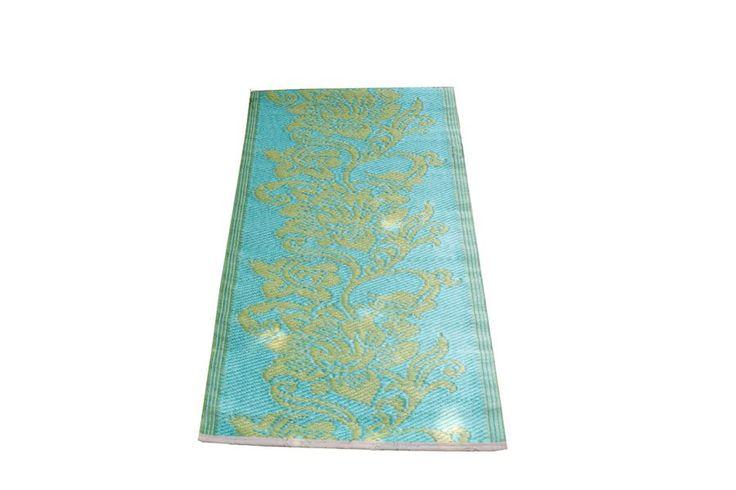 Plastic vloerkleden en tuintapijten in diverse kleuren, maten en prints.