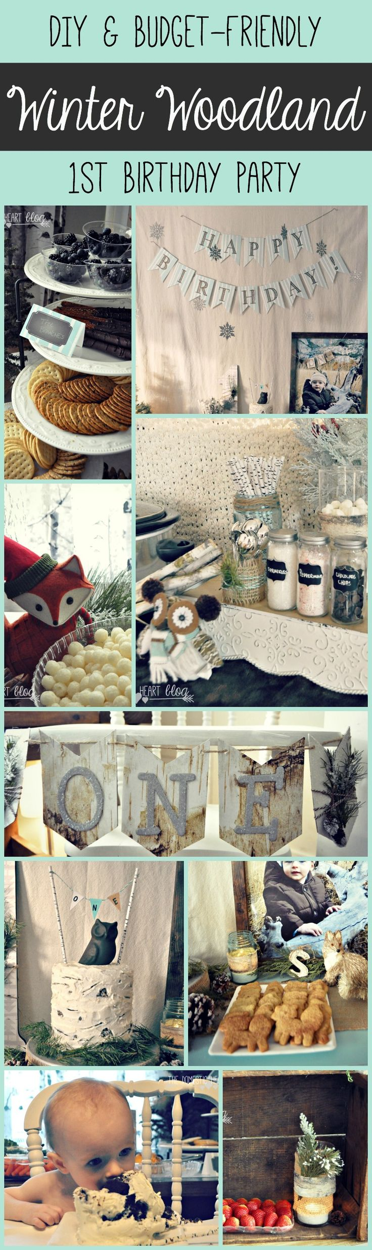 Heres How To Stage A Completely DIY And Budget Friendly First Birthday Party With