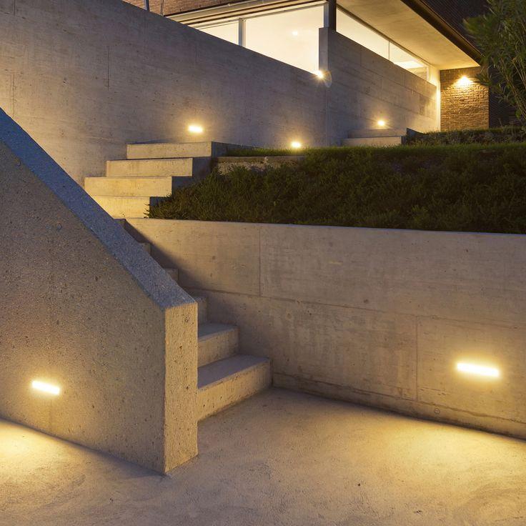 15 besten led wandbeleuchtung einbauleuchten bilder auf pinterest edelstahl weiss und aussen. Black Bedroom Furniture Sets. Home Design Ideas