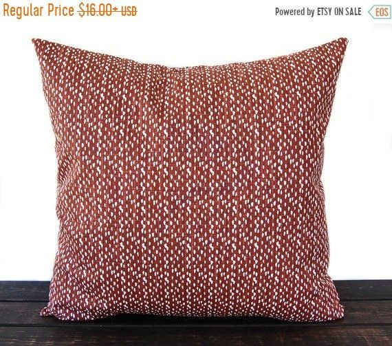 Throw Pillow Cover Cushion Cover Decorative Pillow Sierra Rust