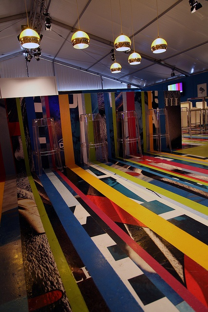 Lounge créatif Astral (Creative Lounge Astral) © Barbara Haemmig de Preux / C2-MTL. #C2MTL