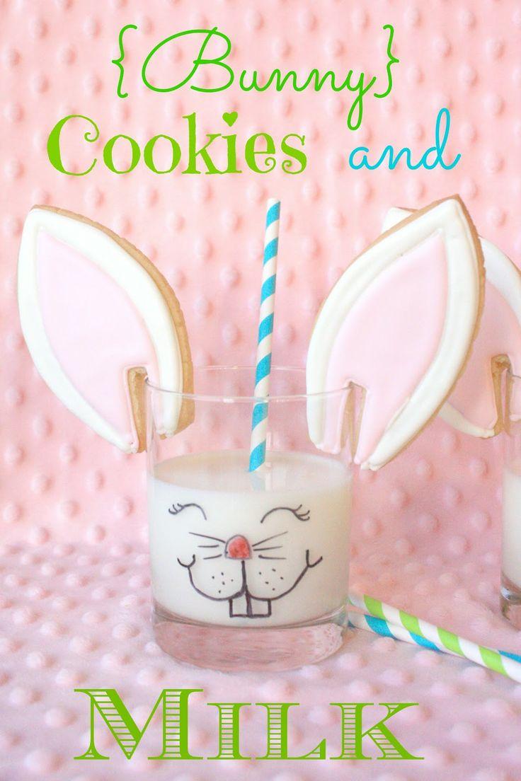 Munchkin Munchies: {Bunny} Cookies and Milk