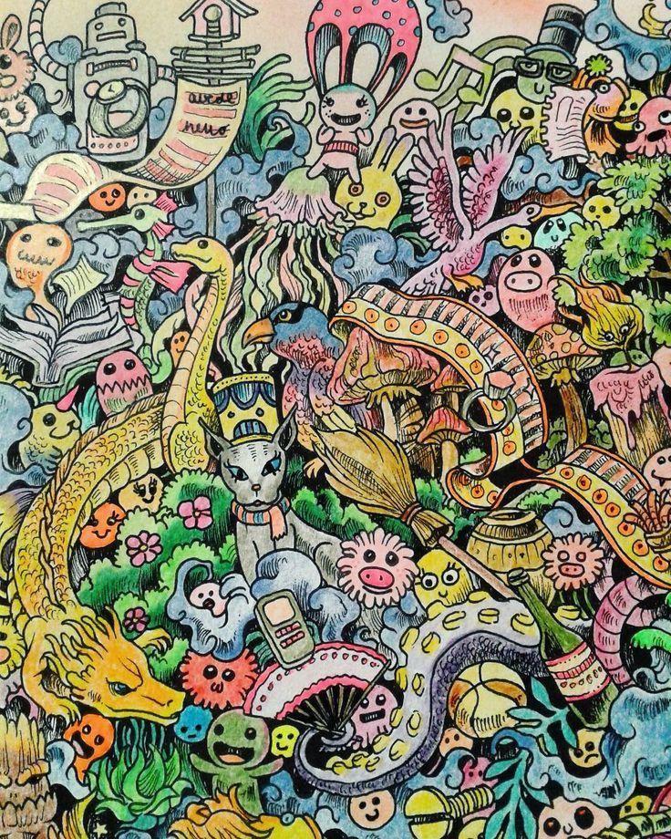 Animorphia Adult ColoringColoring BooksColouringDoodlesPencil